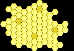 Honeycomb clipart comb