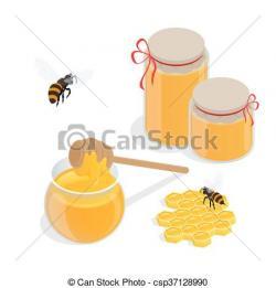 Honeycomb clipart honey dipper