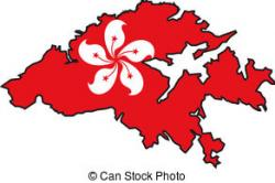 Hongkong clipart Hong Kong Flag Clipart