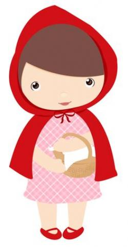 Red Riding Hood clipart cute