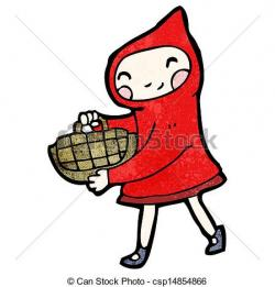 Red Riding Hood clipart cartoon
