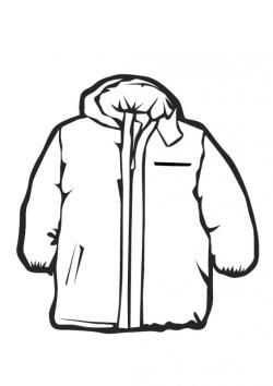 Hood clipart kid coat
