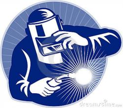 Men clipart welder