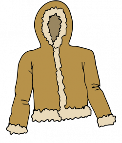 Fur clipart kid coat
