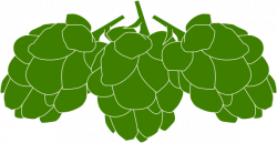 Barley clipart beer hop