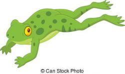 Jump clipart cute hopping frog