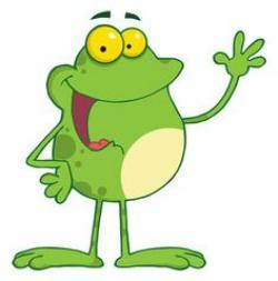 Bullfrog clipart cute frog