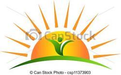 Farmland clipart sun horizon