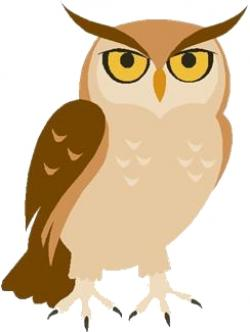 Barred Owl clipart wise owl