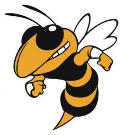 Hornet clipart happy