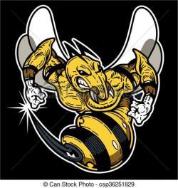 Hornet clipart mean