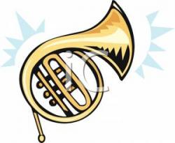 Brass clipart french horn