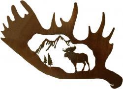 Moose clipart moose antler