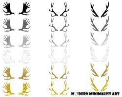 Horns clipart moose antler