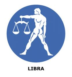 Libra clipart astrology