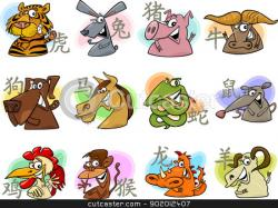 Zodiac Sign clipart chinese zodiac