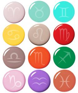 Horoscope clipart color