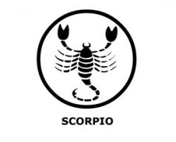 Zodiac Sign clipart scorpio
