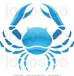 Zodiac Sign clipart blue crab