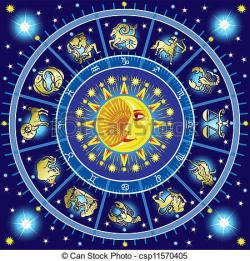 Horoscope clipart vector