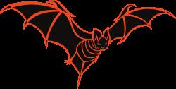 Spooky clipart bat