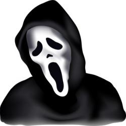 Spooky clipart scream