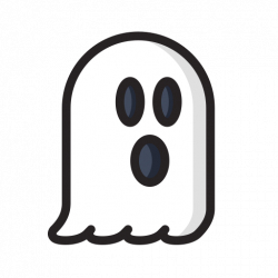 Horror clipart phantom