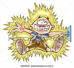Shocking clipart electric shock