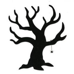 Horror clipart spooky tree