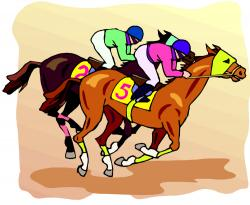 Race clipart horse race
