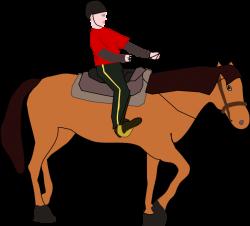 Horsemen clipart horse rider