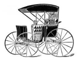 Horse-drawn Carriage clipart kalesa