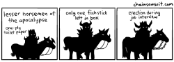 Horsemen clipart the apocalypse