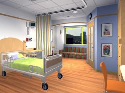 Ceiling clipart hospital room