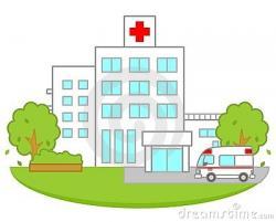 Hospital clipart buliding