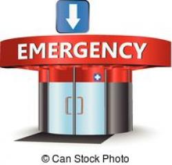 Hospital clipart emergency room