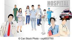 Hospital clipart group nurse