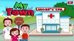 Hospital clipart my town