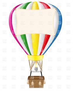 Hot Air Balloon clipart air transportation