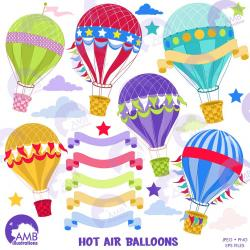 Hot Air Balloon clipart carnival