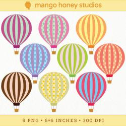 Hot Air Balloon clipart circus
