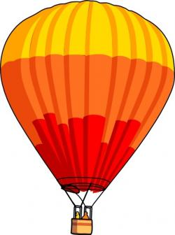Hot Air Balloon clipart drawn