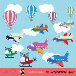 Vehicle clipart air transport