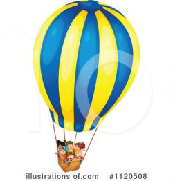 Hot Air Balloon clipart illustration