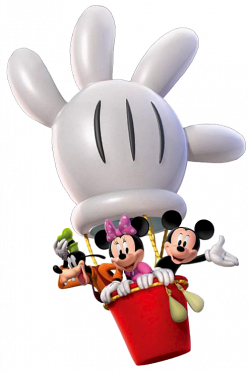 Hot Air Balloon clipart mickey mouse clubhouse