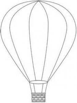 Hot Air Balloon clipart printable