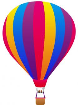 Hot Air Balloon clipart purple object