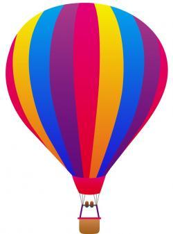 Hot Air Balloon clipart purple object