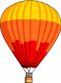 Hot Air Balloon clipart transparent