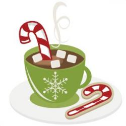 Candy Cane clipart hot cocoa